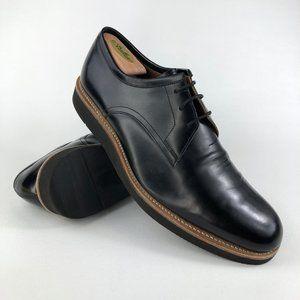 Grenson Lennie Black Leather Derby Shoes UK 10